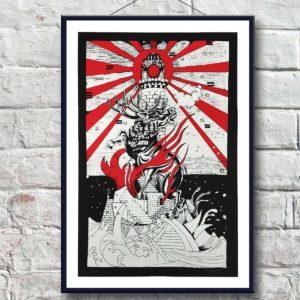 Giorgio Casu Prints Red