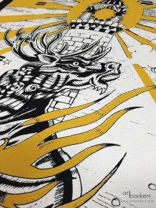 Giorgio Casu Prints Yellow