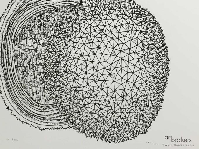 Federico Carta Crisa Art Backers Durione prints