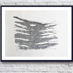 Federico Crisa dall'alto Art Backers prints