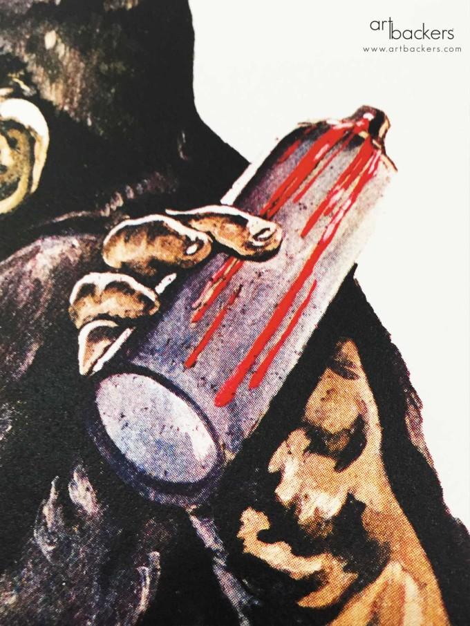 Simone Fugazzotto Love Monkey Art backers