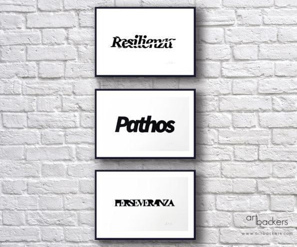 Manu Invisible Resilienza, Pathos, Perseverance SET