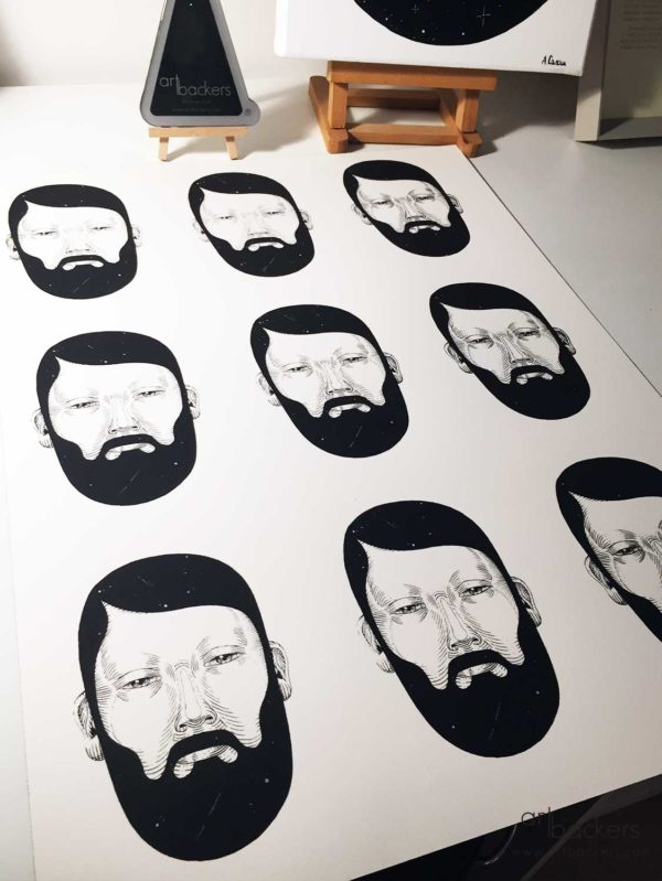 multi bearded andrea casciu