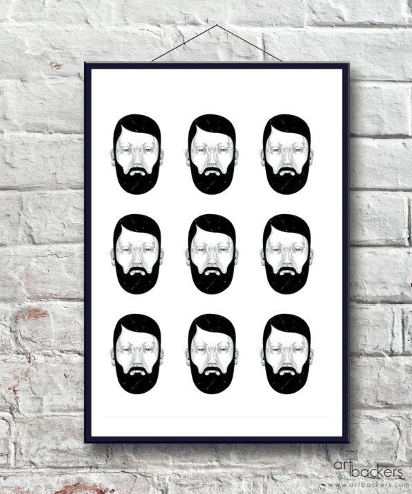 Multi Bearded – Andrea Casciu