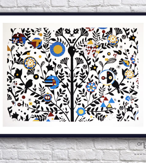 Giorgio Casu Tree of Life Black