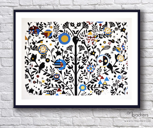 Giorgio Casu Tree of Life Black