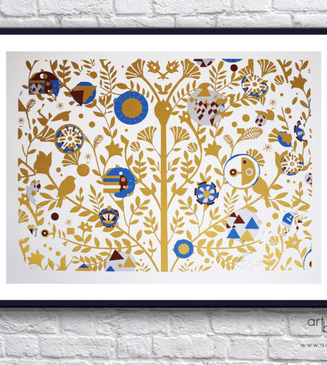 Giorgio Casu Tree of Life Gold