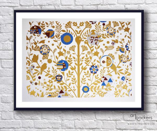 Giorgio Casu Tree of Life Gold