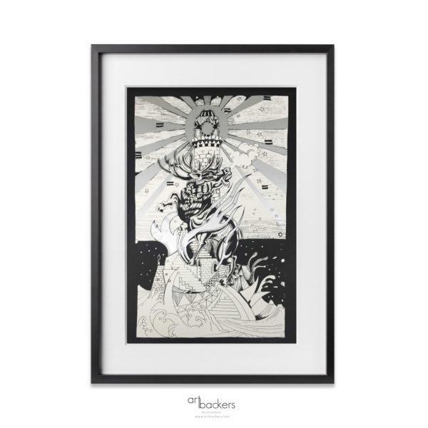 Giorgio_Casu_The_Deer_and_The_Lighthouse_Artbackers