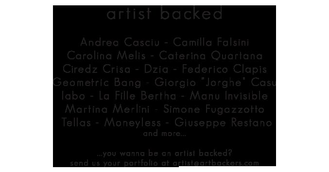 artist art backer