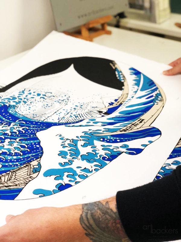 Andrea Casciu - La Grande onda - Art BackersAndrea Casciu - La Grande onda - Art Backers